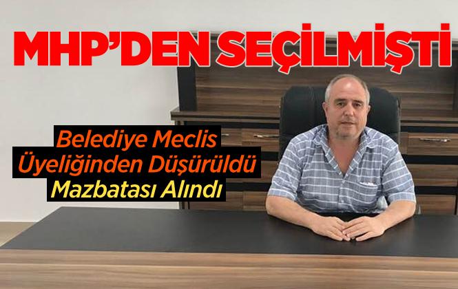 Gülnar'da Meclis Üyesi Yüksel Çelik'in Üyeliği Düşürüldü