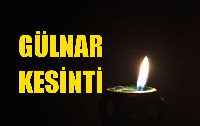Gülnar Elektrik Kesintisi 31 Ağustos Cumartesi