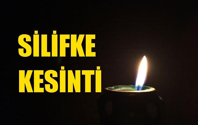 Silifke Elektrik Kesintisi 01 Eylül Pazar