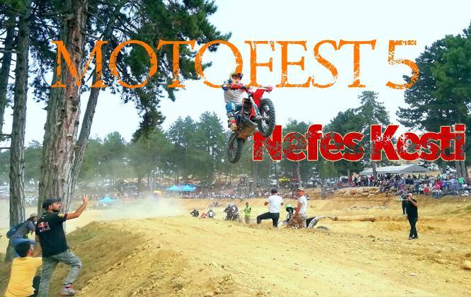Çamlıyayla'da Motofest 5 Gösterileri Nefes Kesti