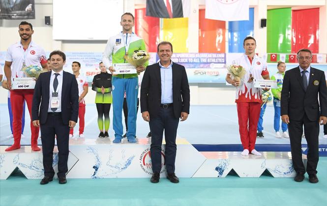 Mersin'de Artistik Cimnastik Dünya Kupası Sona Erdi