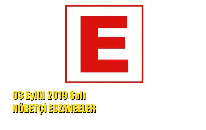 Mersin Nöbetçi Eczaneler 03 Eylül 2019 Salı