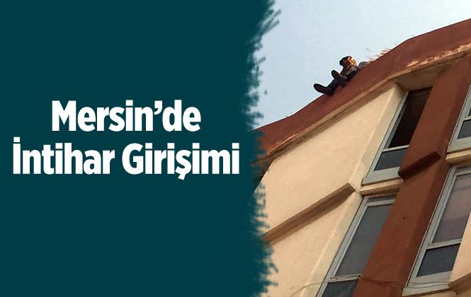 Mersin'de İntihar Girişimi