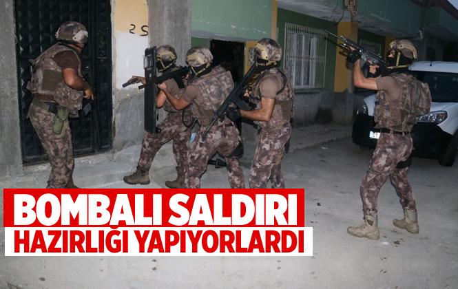 Adana'da Bombalı Saldırıya Hazırlanan 7 Terörist Yakalandı