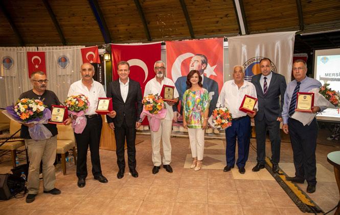 Mersin Büyükşehir Belediye Başkanı Vahap Seçer, Zabıta Personeli İle Yemekte Buluştu