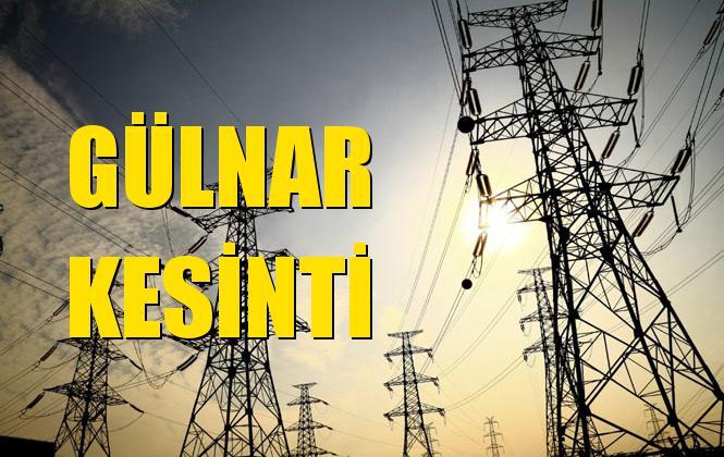 Gülnar Elektrik Kesintisi 09 Eylül Pazartesi