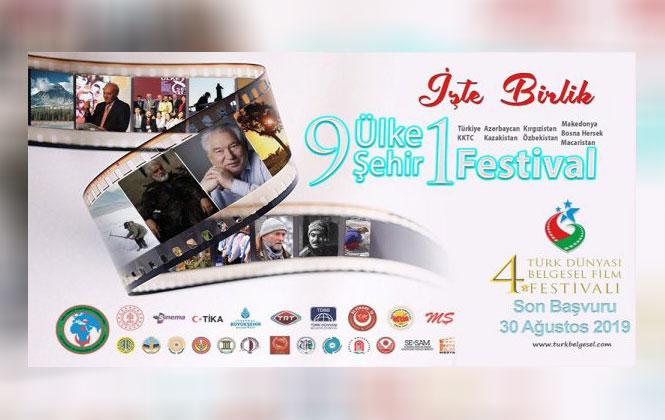 Belgeselcilikte Türk Dünyasının Marka Festivali Türk Dünyası 4. Belgesel Film Festivali İçin Geri Sayım Başladı