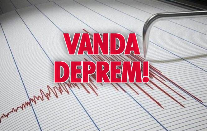 Merkez Üssü Guvendık-baskale (van) Olan 3.2 Büyüklüğünde Deprem Meydana Geldi