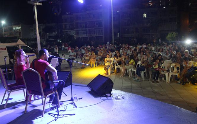 Mersin Erdemli'de Vatandaşlar, Müzik Günlerinde Buluştu