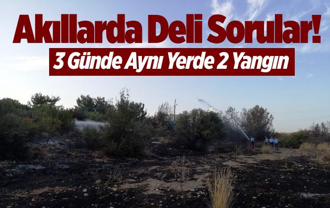 Mersin'de Aynı Bölgede 3 Günde 2 Yangınla İlgili Soruşturma Başlatıldı