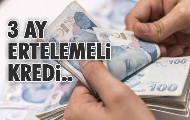 QNB Finansbank'tan 3 Ay Ertelemeli, Özel İhtiyaç Kredisi