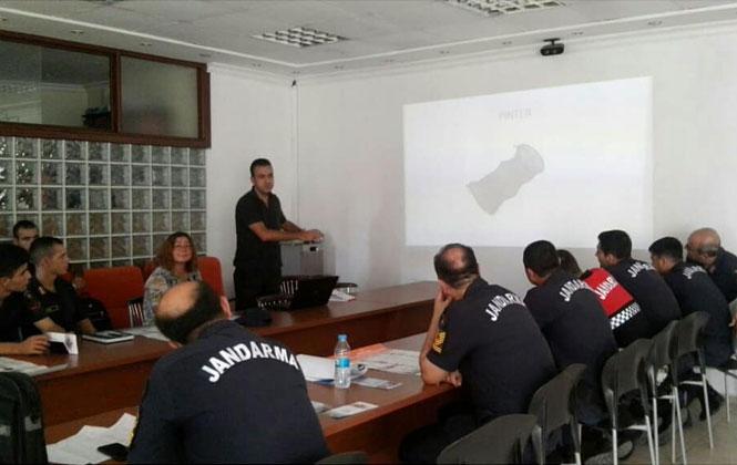 Mersin İl Tarım ve Orman Müdürlüğünden, Tarsus İlçe Jandarma Personeline, Su Ürünlerine Dair Eğitim