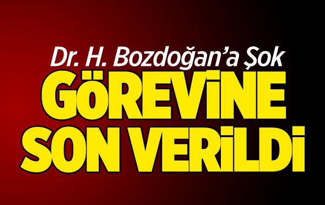 Trabzon Spor Doktoru Hakan Bozdoğan'ın Görevine Son Verildi