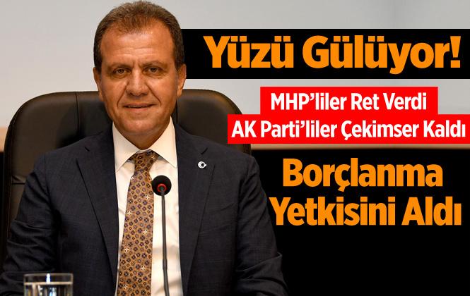 Mersin Büyükşehir Meclis Toplantısında Vahap Seçer'e Borçlanma Yetkisi Verildi