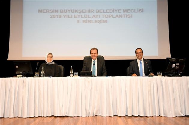 Mersin'de Borçlanma Yetkisi Oy Çokluğuyla Meclisten Geçti