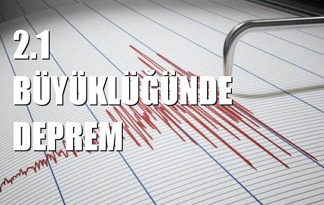 Merkez üssü BASAKLI-OLTU (ERZURUM) olan 2.1 Büyüklüğünde Deprem Meydana Geldi