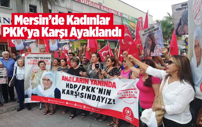Mersin Diyarbakır'da Eylem Yapan Ailelere Mersin'den Destek