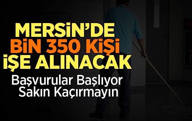 Mersin'de, Okullara Toplum Yararı Programı Kapsamında Bin 350 Personel Alınacak