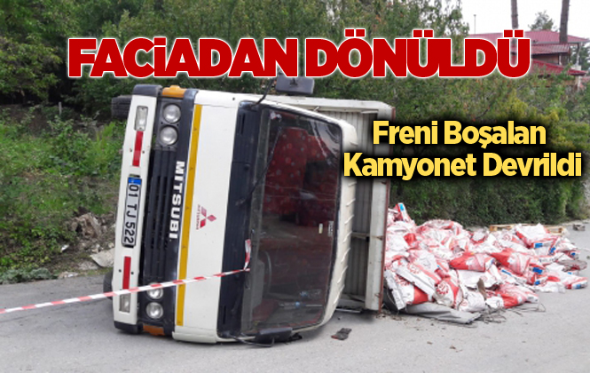 Mersin Çamlıyayla'da Trafik Kazası:3 Yaralı