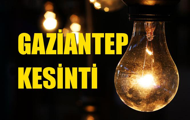 Gaziantep Elektrik Kesintisi 22 Eylül Pazar
