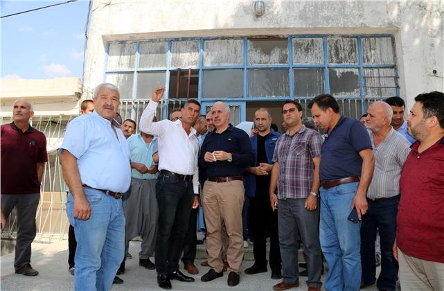 Akdeniz Belediye Başkanı Gültak Huzurkent'i Ziyaret Etti