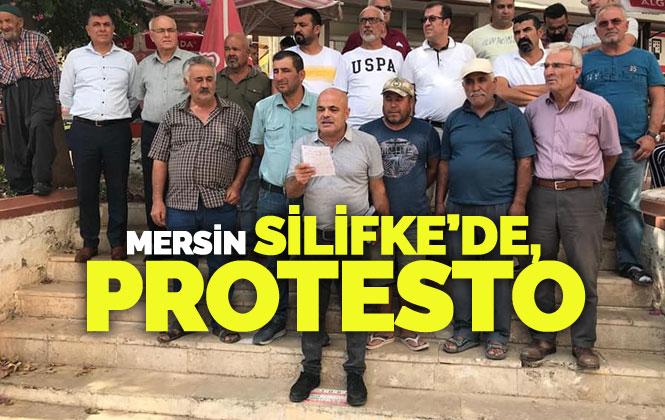 Mersin Silifke'de Belediye Mallarının Satışa Çıkarılmasına Tepki!