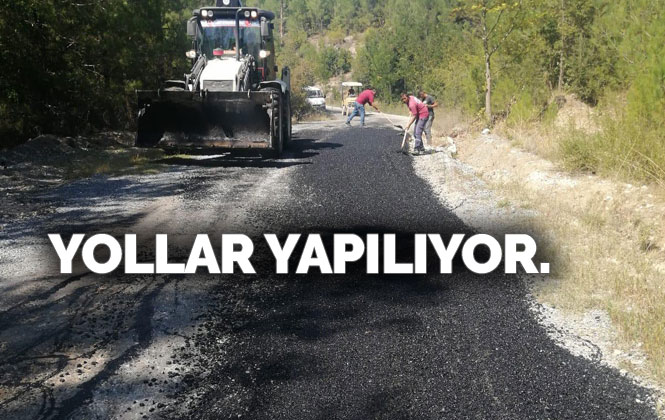 Büyükşehir'den Körmenlik ve Belçınar Arasında 10 Km Asfalt Yama Çalışması