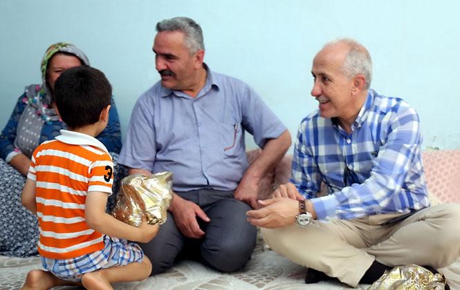 Akdeniz Belediyesi Şehit Ailesine Sahip Çıktı