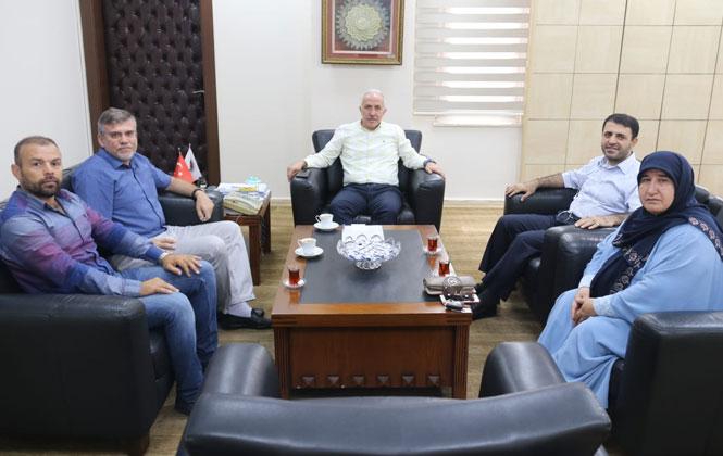 Mersingücü GSK Yönetim Kurulu, Başkan Gültak'ı Ziyaret Etti