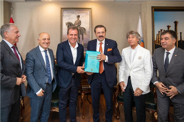 Hisarcıklıoğlu'ndan Başkan Seçer'e Ziyaret
