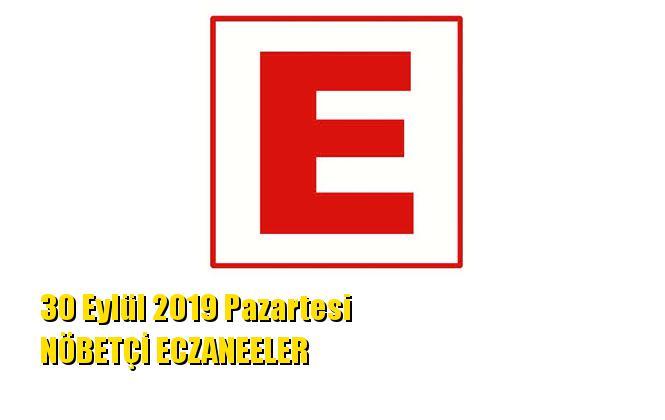 Mersin Nöbetçi Eczaneler 30 Eylül 2019 Pazartesi