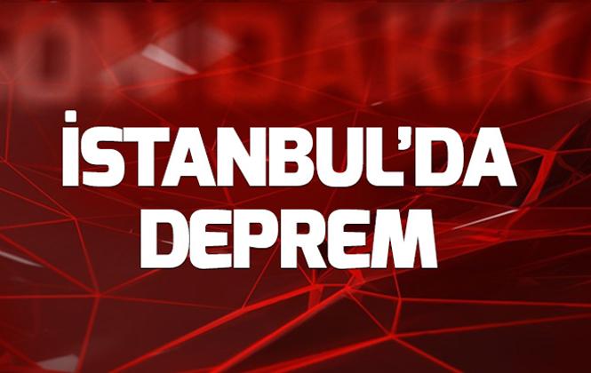 Son Dakika: İstanbul'da 3.2 Büyüklüğünde Bir Deprem Daha Oldu