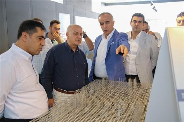 MTSO Başkanı Ayhan Kızıltan, Yapı Müteahitlerini Ziyaret Etti