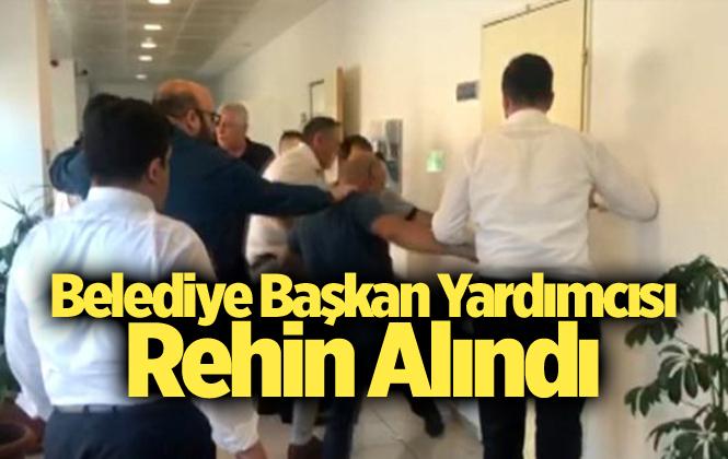 Gemlik Belediye Başkan Yardımcısı Zeynep Akış Serintürk Rehin Alındı