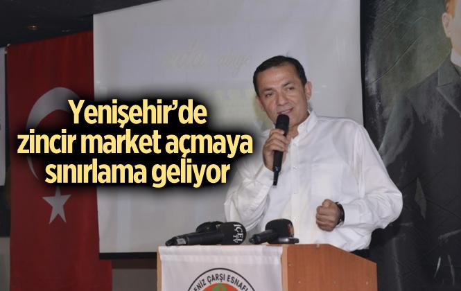 Yenişehir'de Mahalle Arasına Zincir Market Açmaya Sınırlama Geliyor