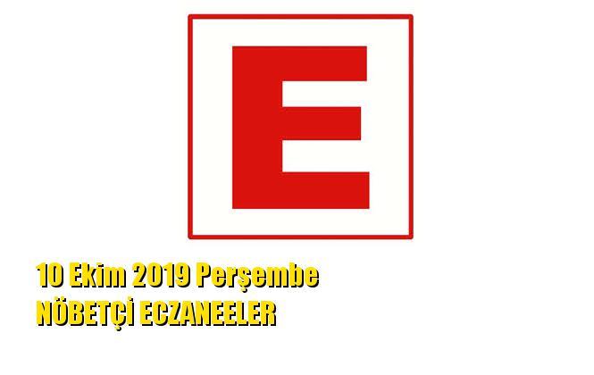 Mersin Nöbetçi Eczaneler 10 Ekim 2019 Perşembe