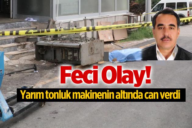 Anamurlu İşçi Ali Göçer Antalya'da İş Kazasında Hayatını Kaybetti