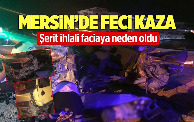 Mersin Silifke'de Ki Kazada Evgeny Türkov Hayatını Kaybetti
