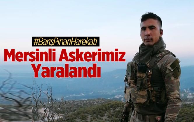 Mersin Tarsuslu Uzman Çavuş Faruk Yılmaz, Barış Pınarı Harekatında Yaralandı