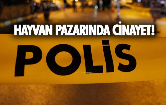 Mersin Tarsus Yunus Emre Mahallesindeki Hayvan Pazarında Cinayet! Kemal Öztunç Hayatını Kaybetti