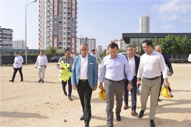 Başkan Abdullah Özyiğit, İnşaat Sektörü Temsilcileriyle Buluştu