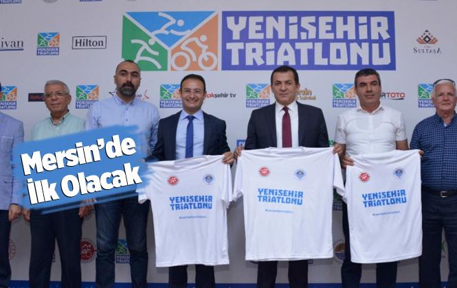 Mersin Yenişehir Triatlonu Başlıyor