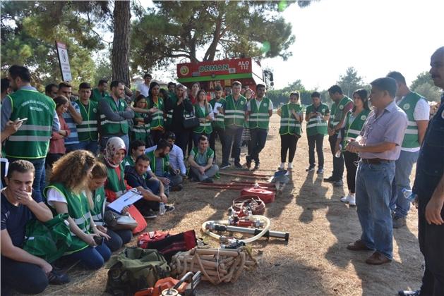 Mersin'de Genç Ormancılara Uygulamalı Eğitim
