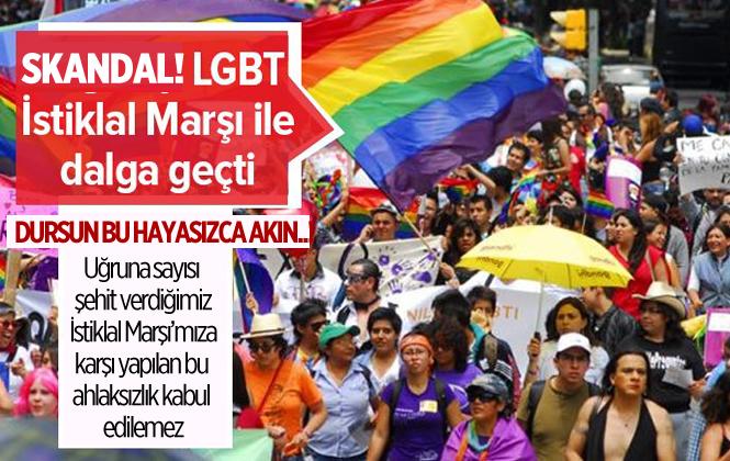 Boğaziçi Üniversitesi LGBT Kulübü'nden İstiklal Marşı'na Karşı Büyük Ahlaksızlık