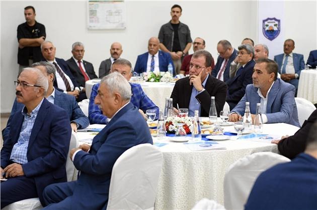Başkan Seçer, 'Mersin ESOB Başkanlar Kurulu Toplantısı'na Katıldı