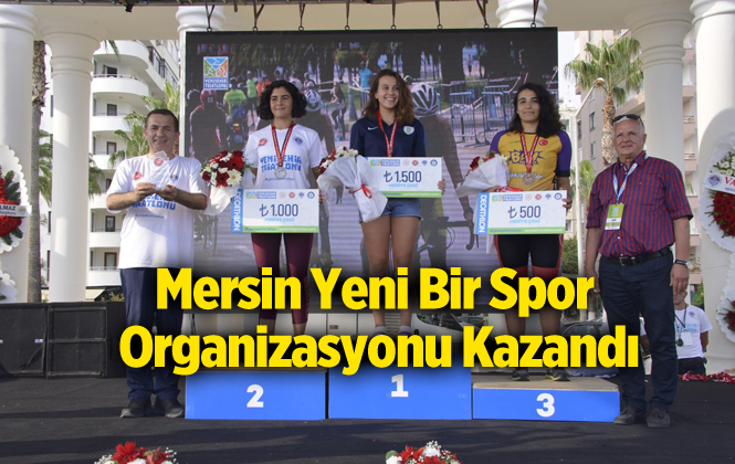 Mersin Yenişehir Triatlonu Heyecan Dolu Anlara Sahne Oldu