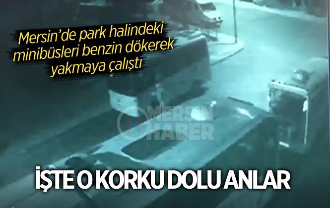 Mersin Anamur'da Park Halindeki Dört Araç Yakılarak Kundaklanmak İstendi