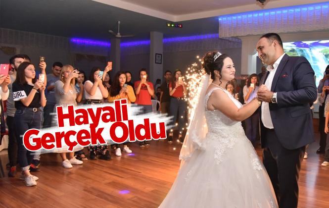 Başkan Yılmaz, Eda'nın Düğün Hayalini Gerçekleştirdi