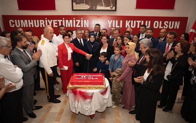Mersin Cumhuriyet Resepsiyonu Gerçekleştirlidi