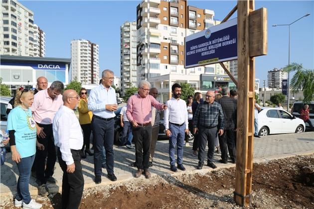Mersin Mezitli'de 51. Koruluk Açıldı